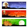 Royalty-Free Stock Vector Image: Halloween posters