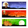 Royalty-Free Stock Immagine Vettoriale: Halloween posters