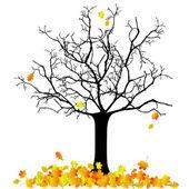 秋のツリー — ストックベクタ