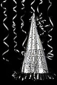 Happy New Year Party Hat — Stock Photo