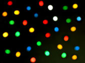 Abstract Christmas Bokeh Background — Stock Photo