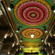 Inside of Meenakshi hindu temple in Madurai, Tamil Nadu, India — Stock Photo #7803581