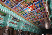 Ceiling Meenakshi Sundareswarar Temple in Madurai, South India — Photo