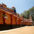 Traditional Hindu temple, South India, Kerala - Foto de Stock