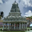 Suchindram temple. Kanniyakumari, Tamil Nadu, South India — Stock Photo