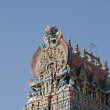 Meenakshi hindu temple in Madurai, Tamil Nadu, India — Stock Photo #7876621