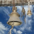 Traditional symbols of the Hindu religion - the bells - Foto de Stock