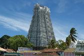 Suchindram temple. Kanniyakumari, Tamil Nadu, South India — Stock Photo