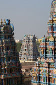 Meenakshi hindu temple in Madurai, South India — Stock Photo