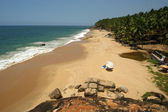 Ocean coast, Kerala, South India — Stock Photo