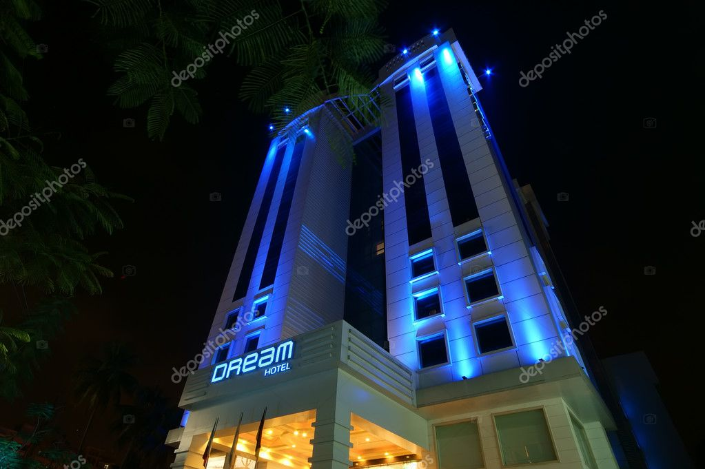 Dream hotel Cochin (kochi ), Kerala, South India  Stock Photo #7871990