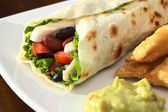 Mexican Tortilla Wraps — Stock Photo