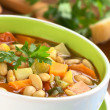 Vegetarian Canary Bean Soup — Stock Photo #6952191