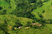 Small Hut in the Sierra Nevada in Northern Colombia — Stock Photo