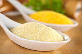 Raw Semolina — Stock Photo