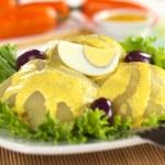 ������, ������: Peruvian Dish Called Papa a la Huancaina