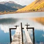 Autumnal Lake Vista — Stock Photo
