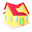 Cottage — Stock Vector