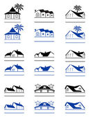 House signs — Stock Vector
