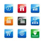 Iconos de www — Vector de stock