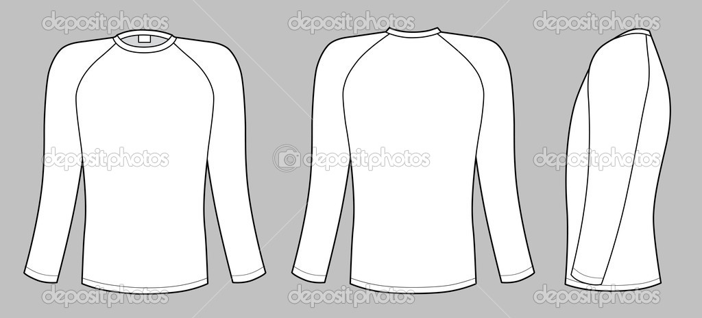 how to draw long sleeves