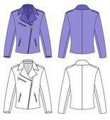 Woman's Jacket — Stock Vector