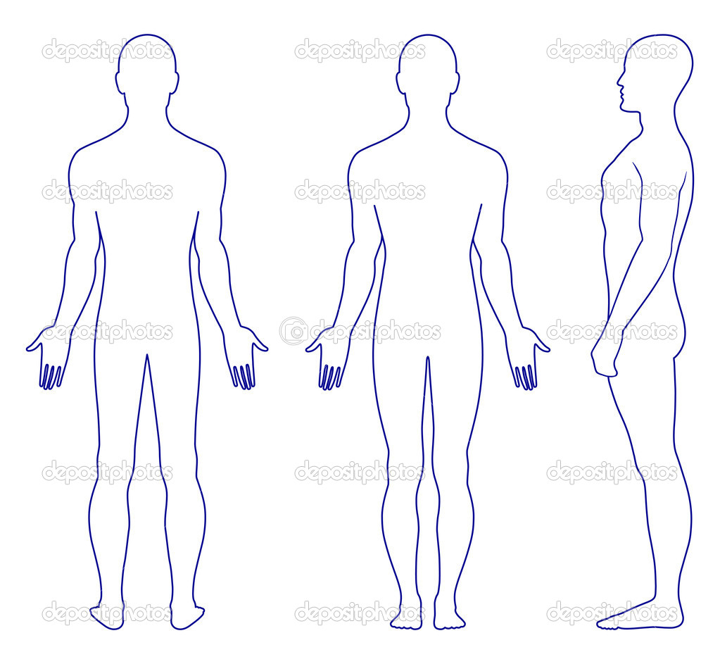 body image outline
