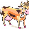 Royalty-Free Stock Imagen vectorial: Vector Cow