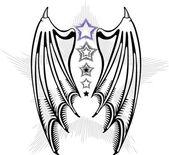 Devil's wings — Stock Vector
