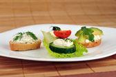 Kleine sandwich — Stockfoto