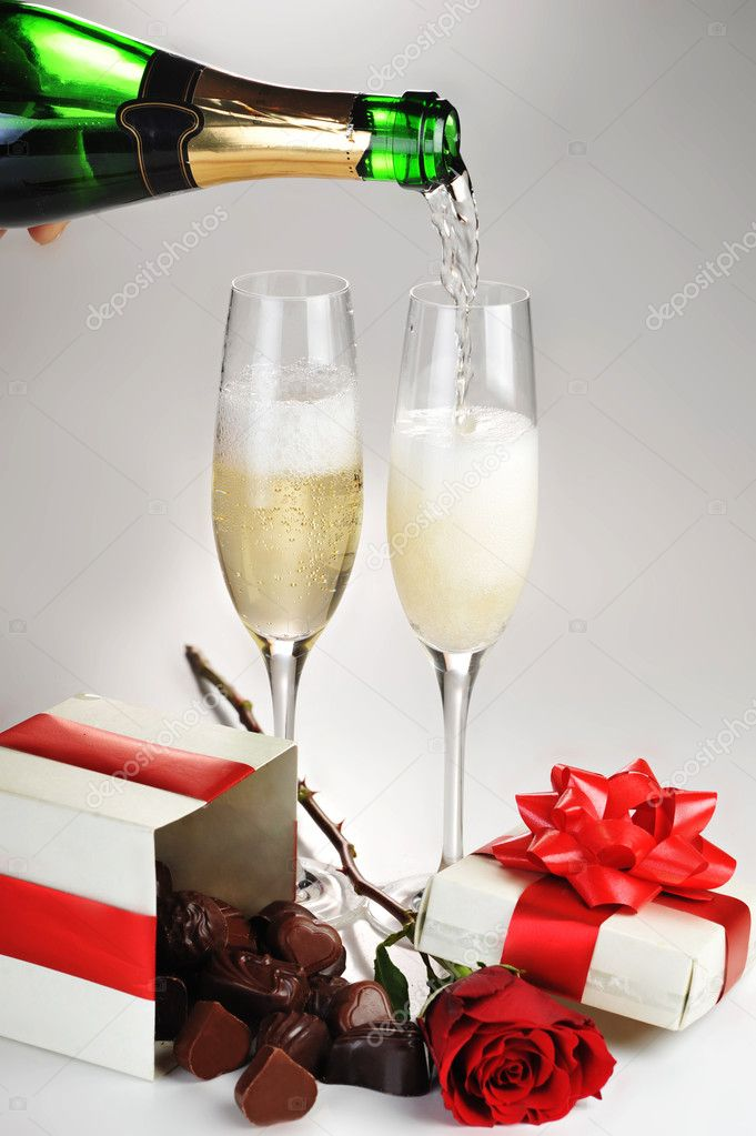 шампанское в картинках анимация