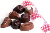 Tasty chocolates — Stock Photo