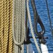 Ship ropes — Stock Photo #7939178