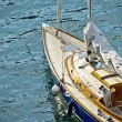 Cruising yacht — Stock Photo