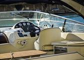 Navigators cabin on yacht — Stock Photo