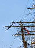 Masts and rigging — Photo