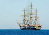 Ancient sailing vessel — Stock Photo