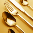 Set of silverware — Stock Photo #7125192
