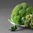 Stock Photo: Broccoli on plate