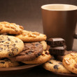Various cookies and coffee — Stock Photo #7237186