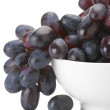 Stock Photo: Purple grape close-up