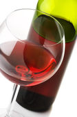 Red wine close-up — Stock Photo