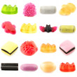 Candy set - Stock Photo