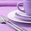 Set of tableware — Stock Photo