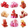 Set of various gifts — Stock Photo #7597400