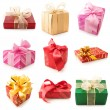 Set of various gifts — Stock Photo #7672567