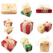 Conjunto de varios regalos — Foto de Stock