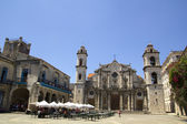The Havana Cathedral in Cuba — Stock Photo