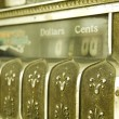 Stock Photo: Cash register.