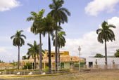 Square of Trinidad, Cuba — Stock Photo